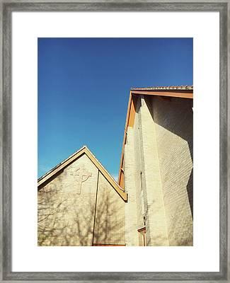 Modern Church Exterior Framed Print