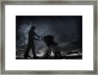 Modern Dad. Framed Print by Antonio Grambone