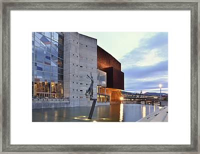 Modern Euskalduna Center Bilbao Framed Print