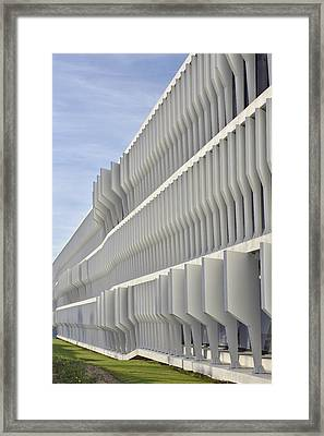 Modern Facade Abstract Framed Print by Marek Stepan