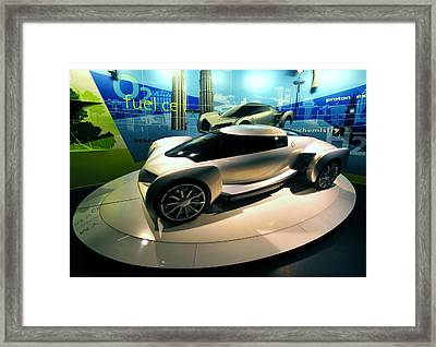 Modern Fuel Cell Car Framed Print