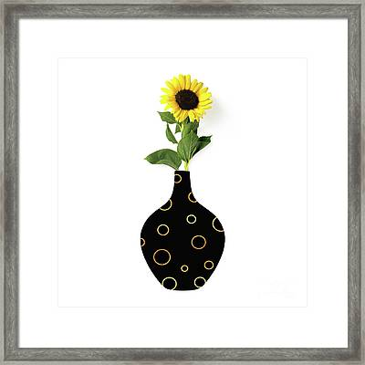 Modern Home I A Fresh Take On Floral Art Framed Print by Tina Lavoie