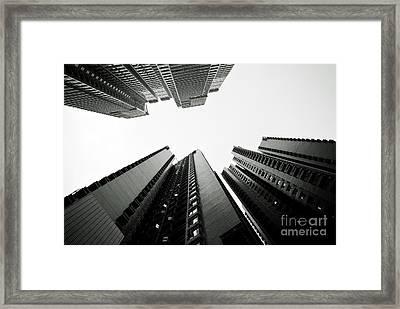 Modern Hong Kong Framed Print