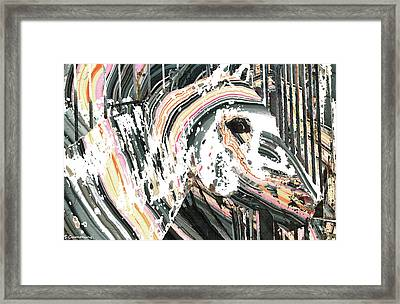 Modern Horse Art By Sharon Cummings Framed Print