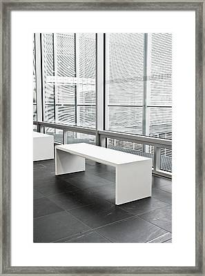 Modern Interior Framed Print by Tom Gowanlock