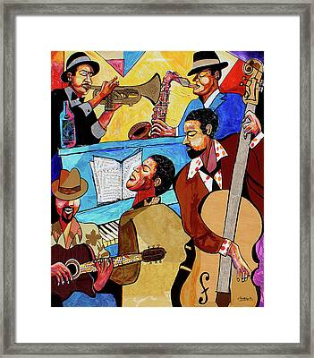 Modern Jazz Quintet Side A Framed Print