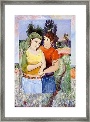 Modern Lovers  Framed Print