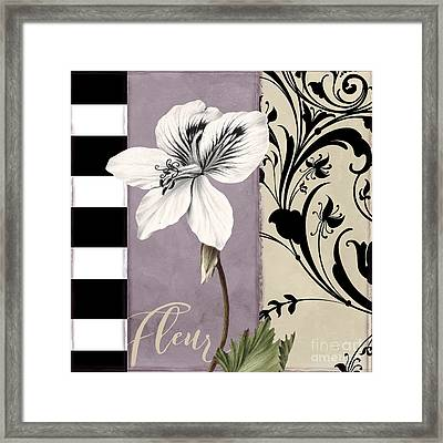 Modern Mauve Framed Print by Mindy Sommers