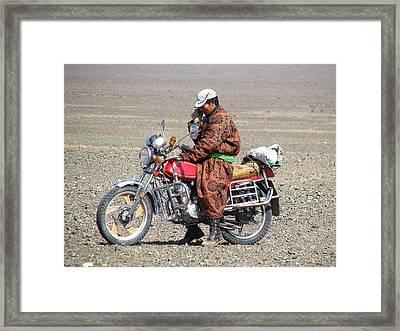 Modern Mongolia Framed Print