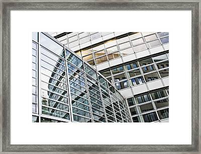 Modern Office Building Framed Print