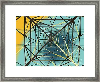 Modern Pyramid Framed Print