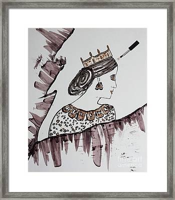 Modern Queen Framed Print