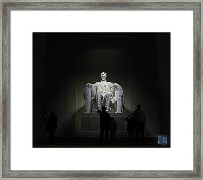Modern Reverence Framed Print
