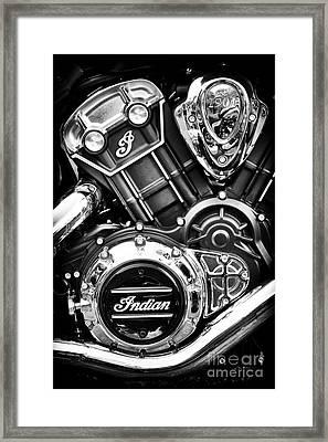 Modern Scout Engine Framed Print