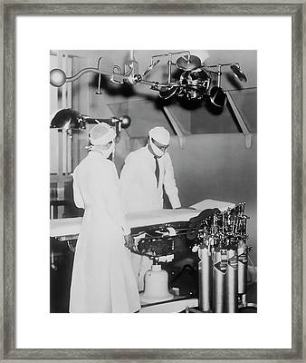 Framed Print featuring the photograph Modern Surgery by Daniel Hagerman