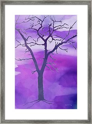 Modern Tree Art 2 Framed Print