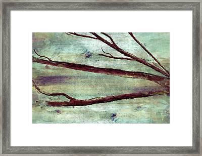 Modern Tree Branch Framed Print