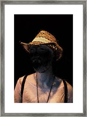 Modern Van Gogh In The Shadows Framed Print by John Haldane