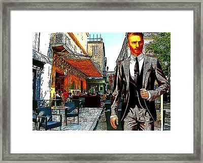 Modern Van Gogh Vii Framed Print by Jose A Gonzalez Jr