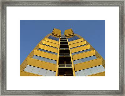 Modern W Hotel Barcelona Spain Framed Print by Marek Stepan