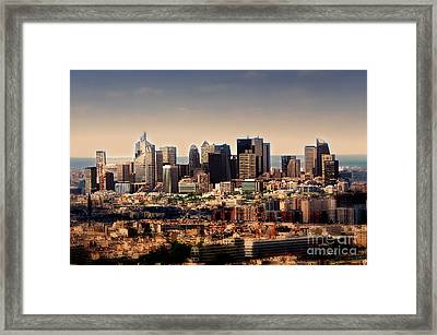Modernity In Paris Framed Print by Alessandro Giorgi Art Photography