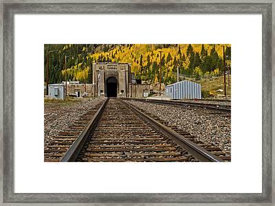 Moffat Tunnel Framed Print