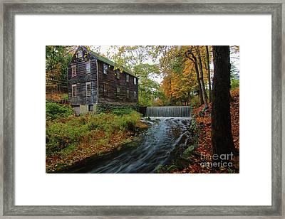 Moffett Mill Framed Print by Jim Beckwith