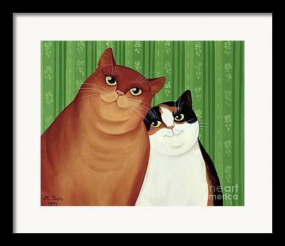 House Pet Paintings Framed Prints