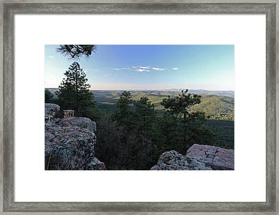 Mogollon Morning Framed Print by Gary Kaylor
