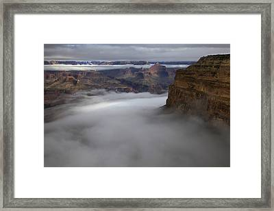 Mohave Point Inversion Framed Print by Mike Buchheit