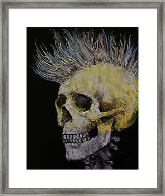 Mohawk Framed Print by Michael Creese