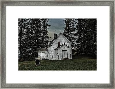 Framed Print featuring the photograph Mohilla Church by Ryan Crouse