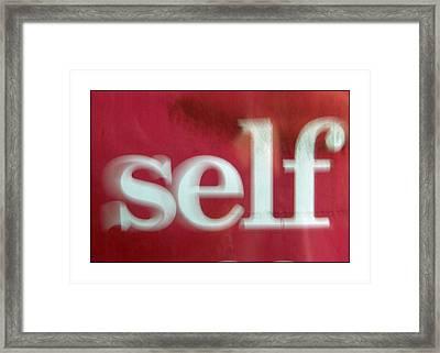 Moi Framed Print by Jez C Self