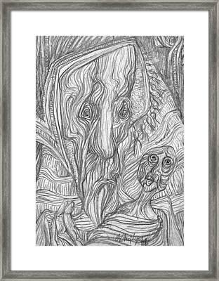 Moine Framed Print by Taylan Apukovska