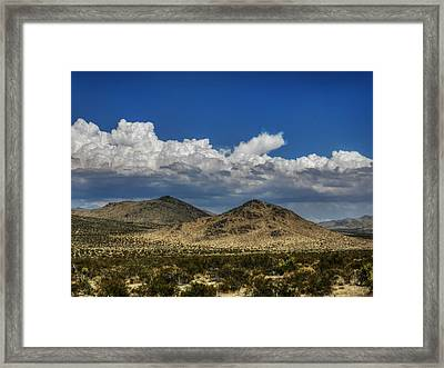 Mojave 020 Framed Print by Lance Vaughn