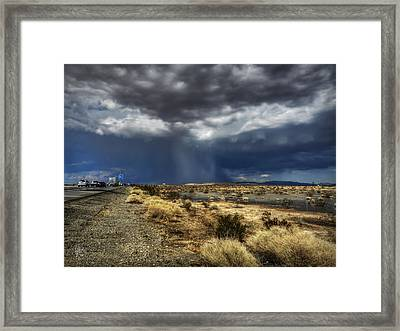 Mojave Hdr 021 Framed Print by Lance Vaughn