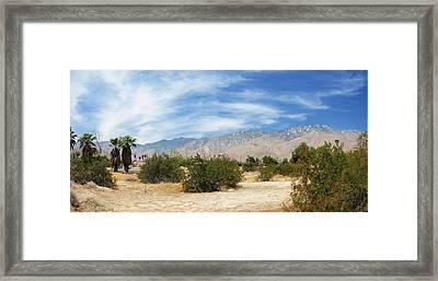 Mojave Pan 2 Framed Print by Chuck Shafer