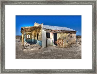 Mojave Times Framed Print