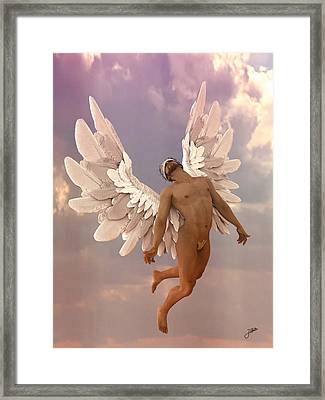 Mojito Angel Framed Print
