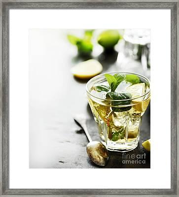 Mojito Framed Print by Jelena Jovanovic