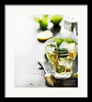 Lime Framed Prints