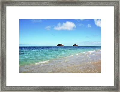 Mokulua Islands Framed Print by Kelly Wade