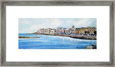 Mola Di Bari Framed Print