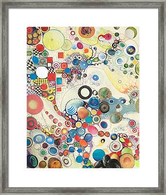 Molecular Geometry Framed Print