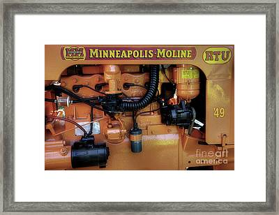 Moline Engine Framed Print