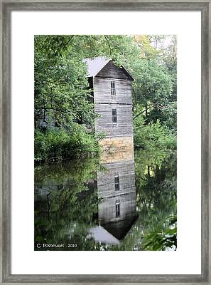 Mollohan Mill 3 Framed Print by Carolyn Postelwait