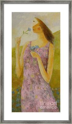 Molly Bloom Framed Print by Glenn Quist