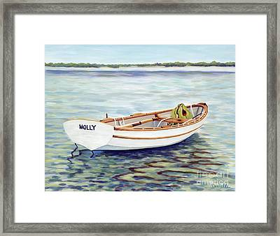 Molly Framed Print by Danielle  Perry