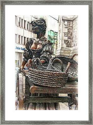 Framed Print featuring the photograph Molly Malone by Hanny Heim