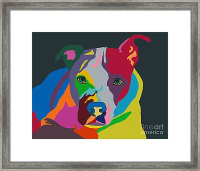 Molly Psychedelic Framed Print